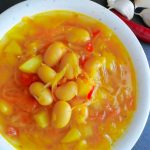 Vegetarian Sauerkraut Soup with Beans