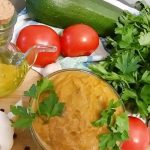 Russian Vegetable Paste from  Zucchini or Zucchini Caviar