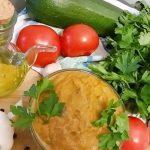 Russian Vegetable Paste from  Zucchini or Zucchini Caviar